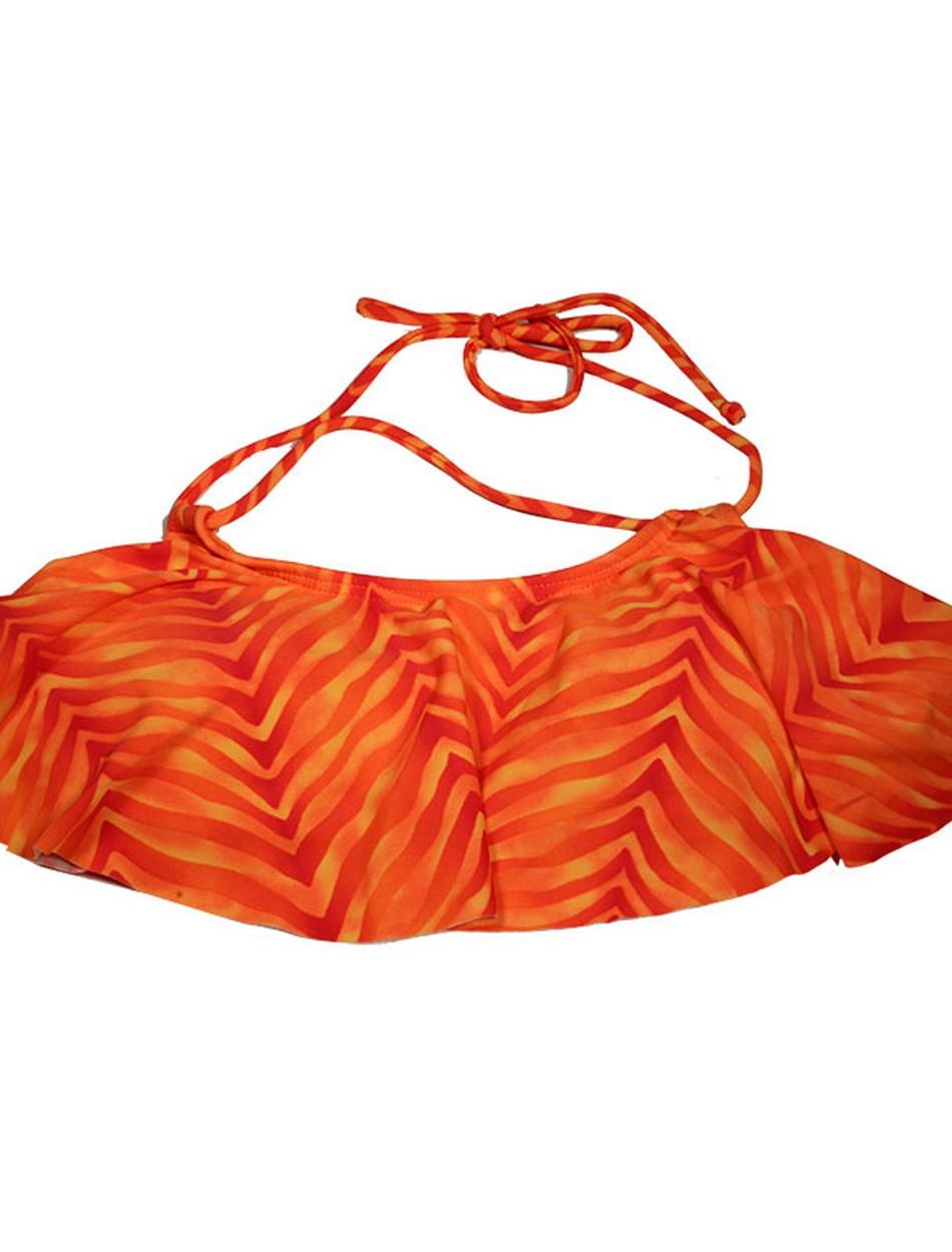 The Hanky Top - Orange Animal